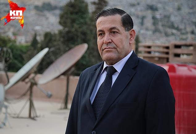 Доктор Хасан Хасан, сирийский политолог Фото: Александр КОЦ, Дмитрий СТЕШИН