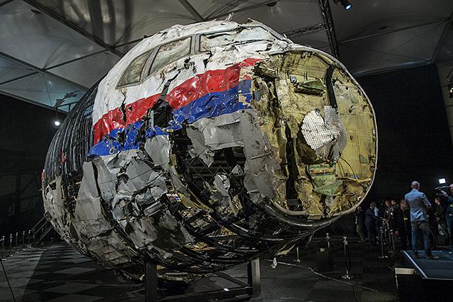 Носовая часть кабины самолета была разделена на более чем 1,5 тысячи условных прямоугольных элементов Фото: REUTERS