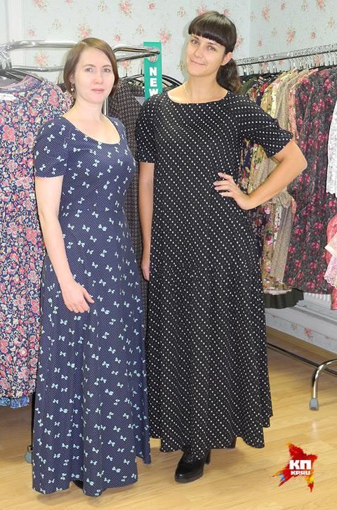 Хозяйки магазина Елена Цоколова (слева) и Евгения Карузина. Фото: Ульяна СКОЙБЕДА