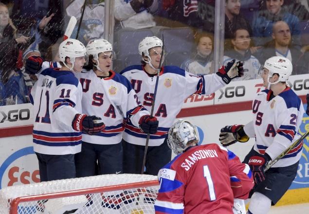 Крайне сложное начало поединка для команды России - США выходит вперед на 10-й минуте встречи. Фото: REUTERS