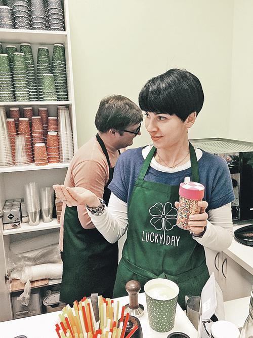 Больше всего в работе бизнесменов нам нравится слушать комплименты нашему продукту: как кофе, так и выпечке  Фото: Ольга ГРИНЬКИНА