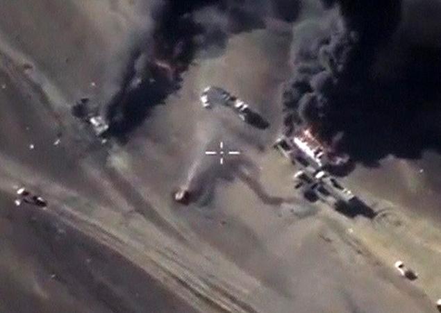 С речью о потоках нефтяной контрабанды Путин выступил очень ярко , американцы были впечатлены Фото: REUTERS