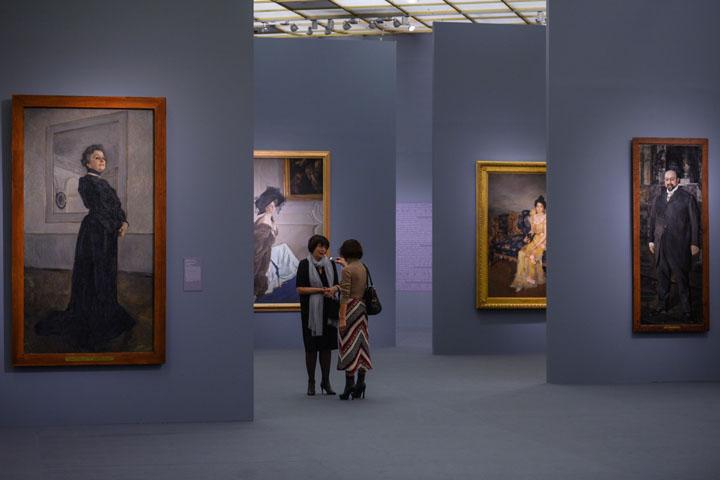 Масштабная выставка-ретроспектива Валентина Серова проводится в Москве впервые за последние 25 лет. Фото: РИА Новости