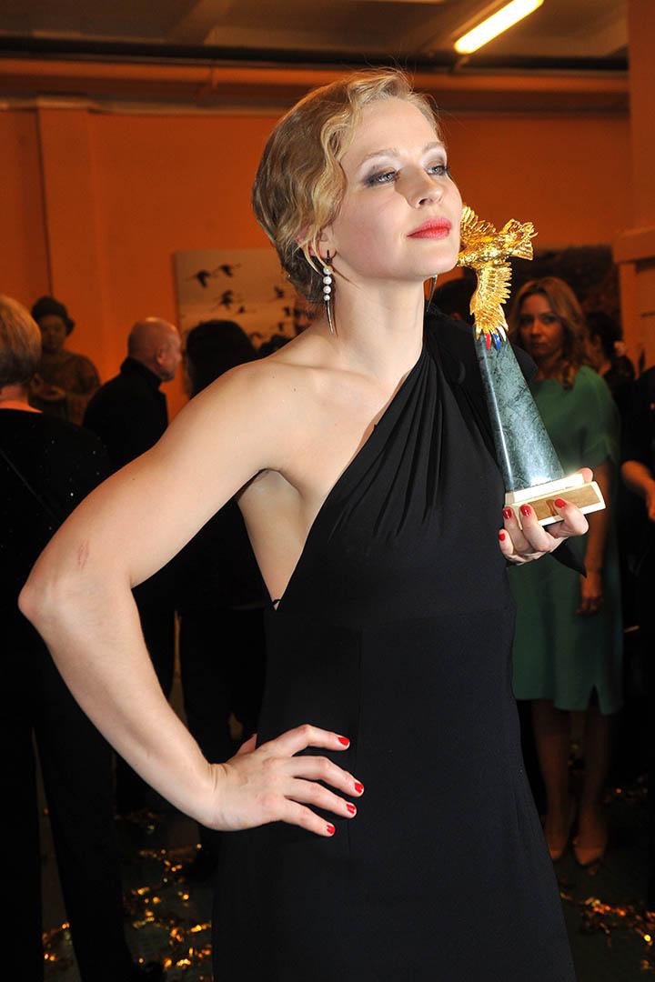 Юлия Пересильд стала одной из главных героинь церемонии Фото: Михаил ФРОЛОВ