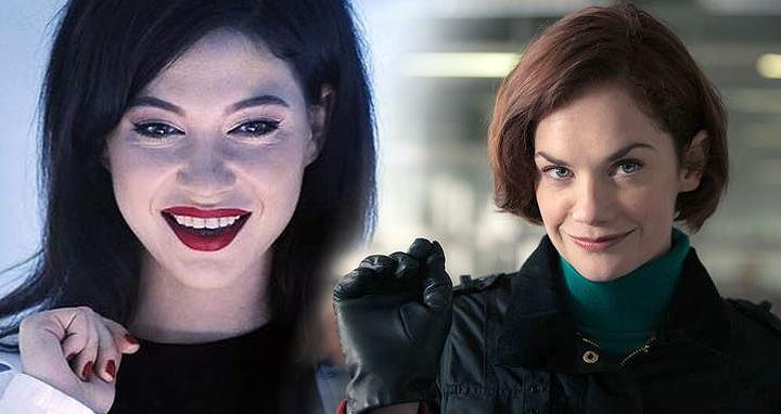 """Зрители говорят о """"бездарной игре Дарьи Мингазетдиновой"""". Актрисе досталась роль, в оригинале исполненная Рут Уилсон (справа)."""