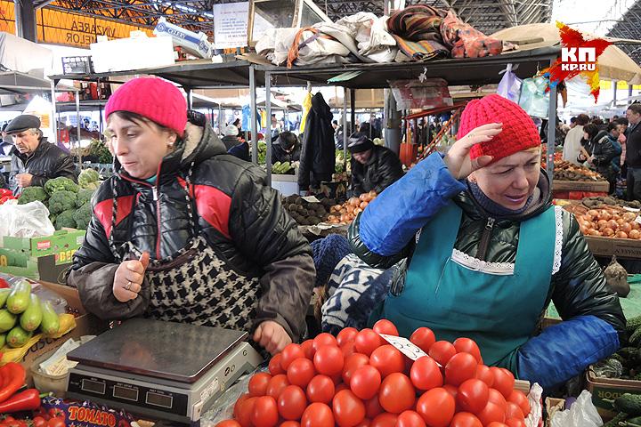 На Центральном рынке Кишинева. Фото: Дарья АСЛАМОВА