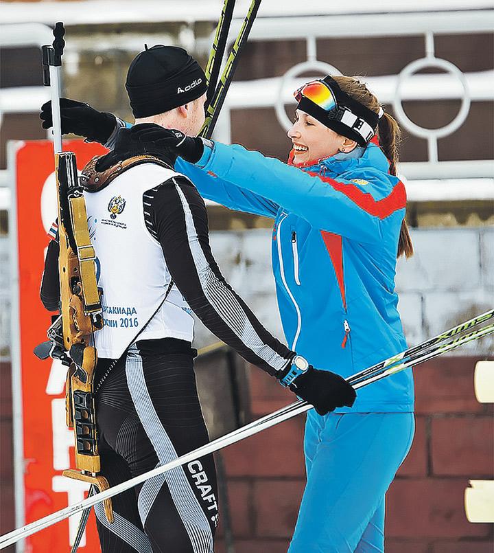 В смешанной биатлонной эстафете не было равных спортсменам из Мордовии. Фото: junior-sport.su