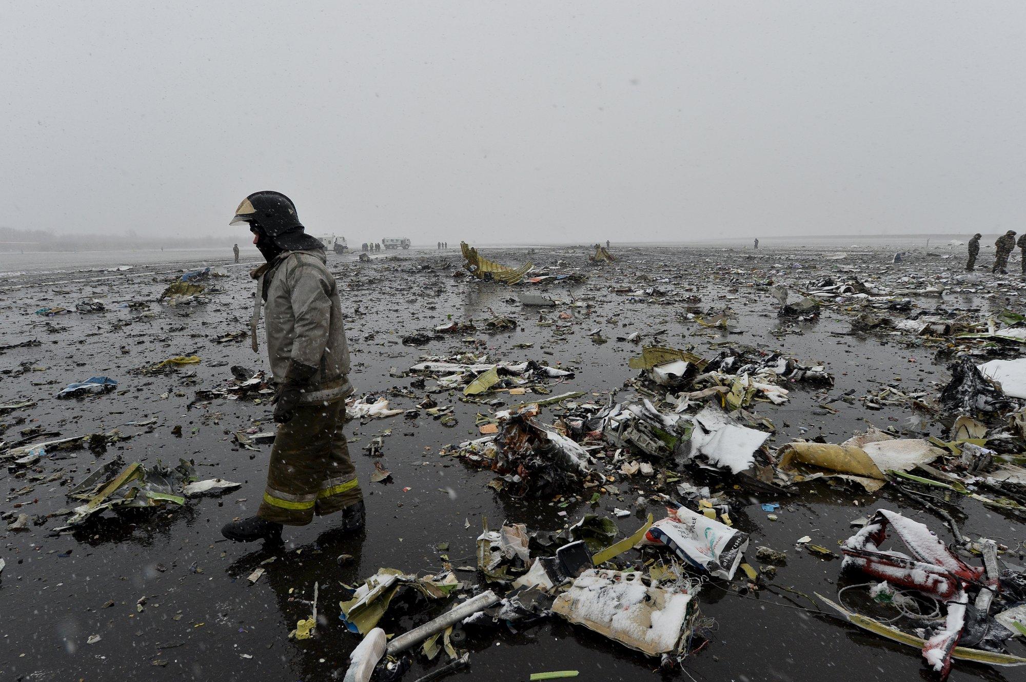 Авиакатастрофа унесла жизни 62 человек Фото: REUTERS
