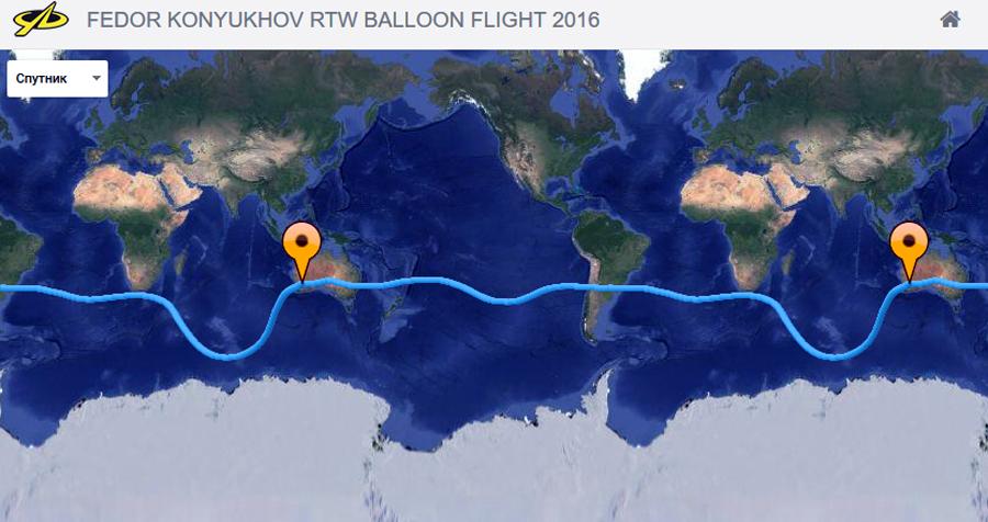 Путешественник облетел планету всего за 11 дней и преодолел более 34 тысяч километров Фото: Скриншот сайта