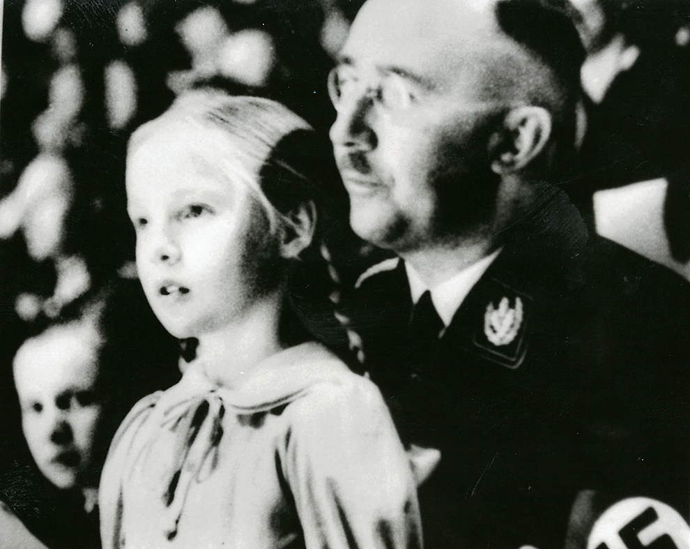 Два раза в неделю Гиммлер звонил своей дочери Гудрун, которую он ласково называл Пюппи Фото: GLOBAL LOOK PRESS