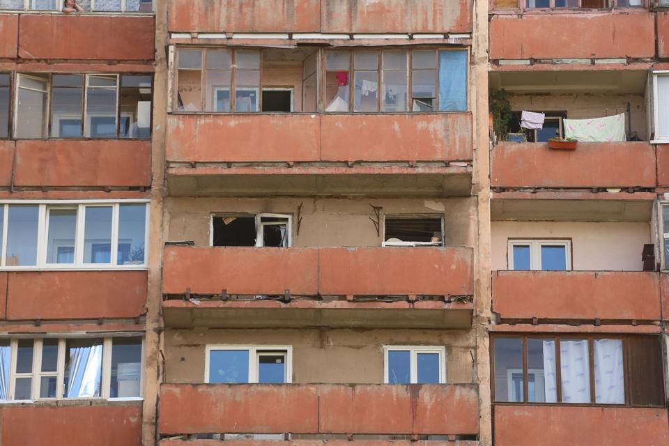 Тот самый балкон. Фото: Александр ГЛУЗ