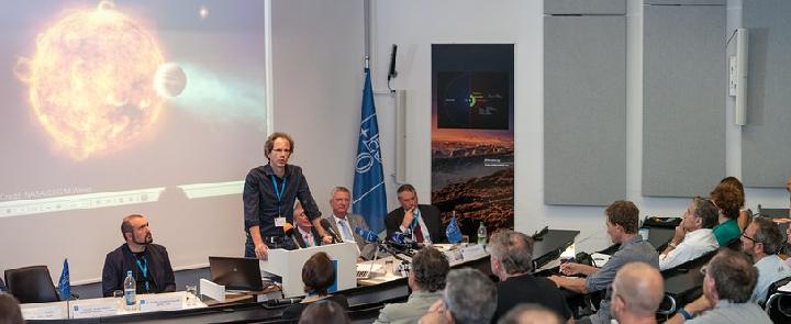 Ради открытия астрономы собрали пресс-конференцию.