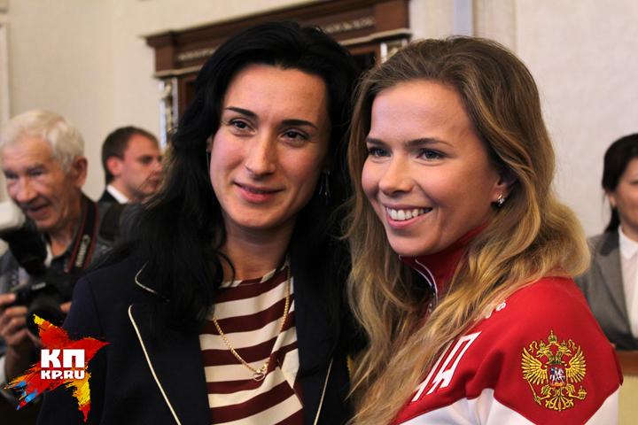 ВНовосибирской области наградили олимпийцев