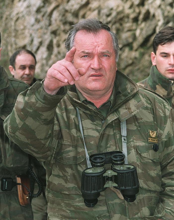 Обвиняемый в военных преступлениях сербский генерал пишет письма из гаагской тюрьмы российскому авиаинженеру Фото: GLOBAL LOOK PRESS