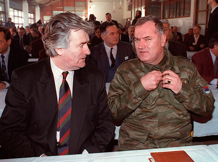 Ратко Младич и Радован Караджич Фото: GLOBAL LOOK PRESS
