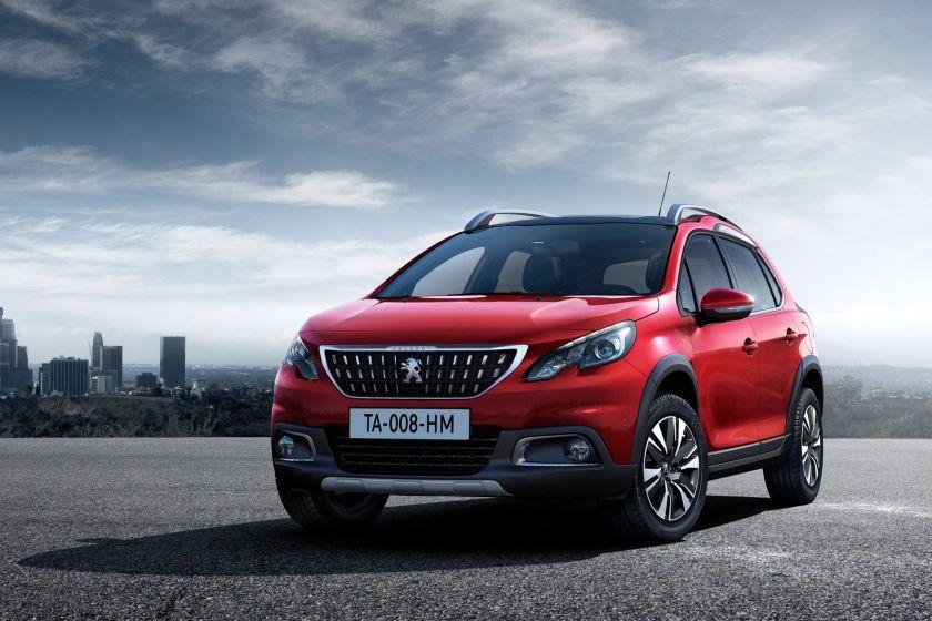 В этом году Peugeot 2008 был подвергнут рестайлингу