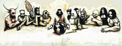 Так Билдербергский клуб изображают западные карикатуристы.