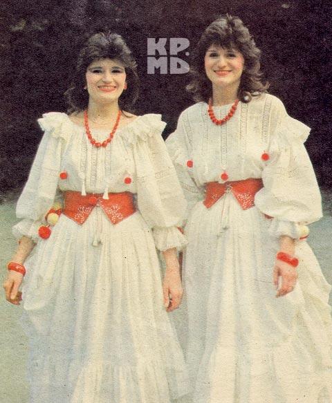 Сестры Чорич - главные скромницы молдавской эстрады.