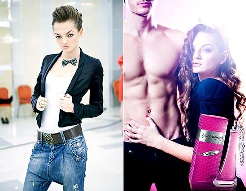 Жене Тимаковой приходилось не раз преображаться, создавая по заданию конкурса новый образ