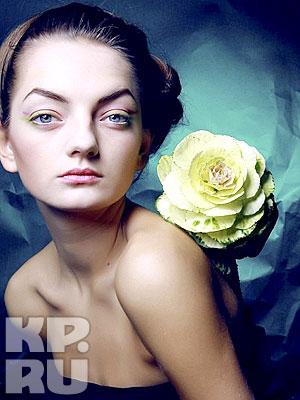 Женя была признана одной из лучших в портретной фотосессии