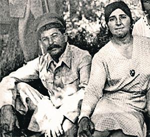 Сталин и Надежда Аллилуева.