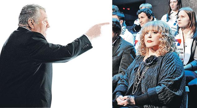 Певица - политику: - Вы клоун и псих! Политик - певице: - И в этом моя прелесть!.. Фото: ТАСС