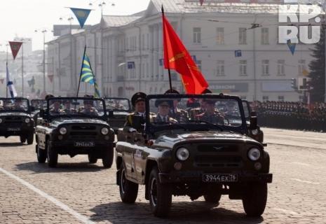 Главное событие Парада - появление на нем ветеранов Фото: Алексей БУЛАТОВ