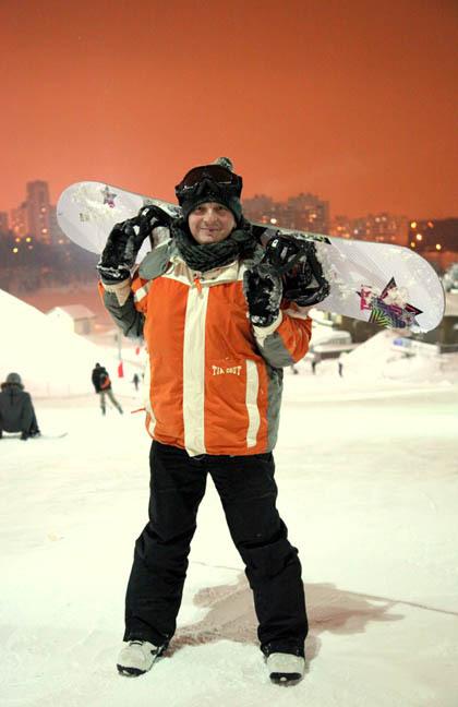 Встать на сноуборд после 40 лет? Самое время.
