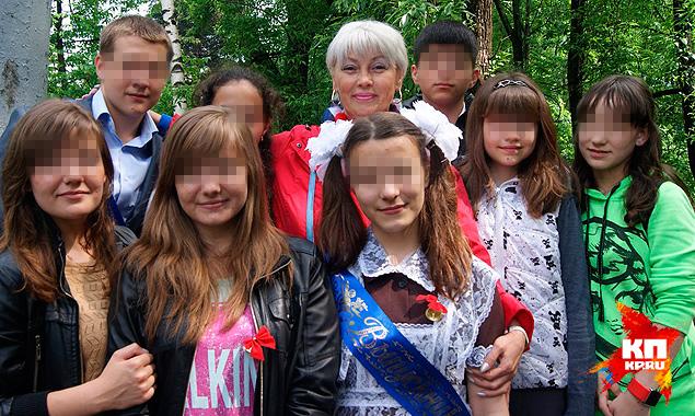 Светлана Шамаева с учениками