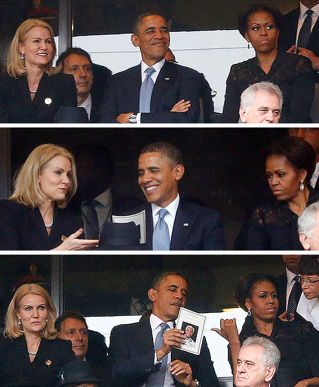 Временами казалось, что президент США излишне увлекся соседкой из Скандинавии. Фото: REUTERS