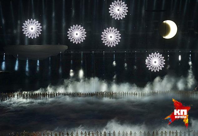 В телевизионной картинке пятое кольцо раскрылось Фото: РИА Новости