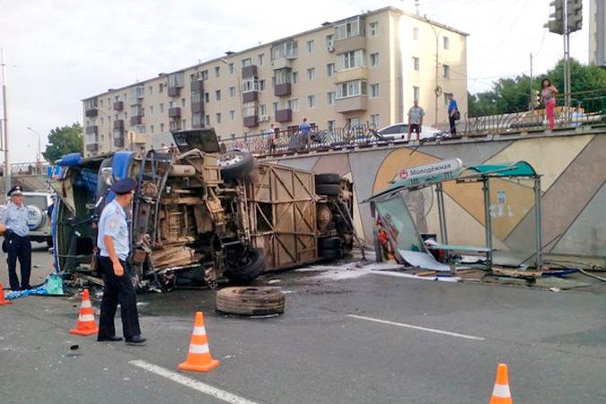 Просто чудо, что никто не погиб Фото: Алексей ДЕМИН