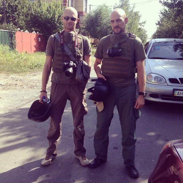 Когда на Украине каждый день что-то обстреливали и взрывали, сотрудники ОБСЕ туда выезжали нечасто. Журналисты - всегда Фото: Александр КОЦ, Дмитрий СТЕШИН