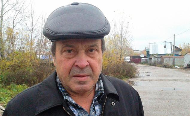 Владимир, который нашел тело мальчика Фото: Константин КОРЕПАНОВ