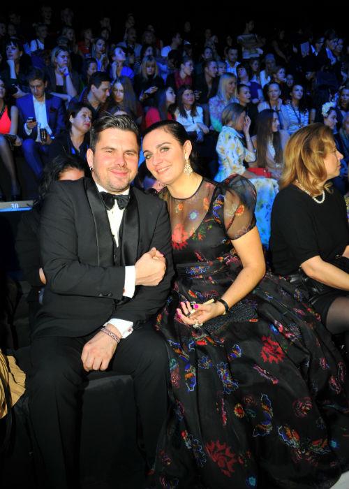 Певец Бусулис Интарс и певица Елена Ваенга Фото: Евгения ГУСЕВА