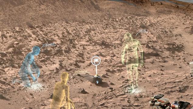 Ученые, оказавшись внутри голограммы, смогут рассматривать элементы марсианского ландшафта. Или обнаруженные артефакты.