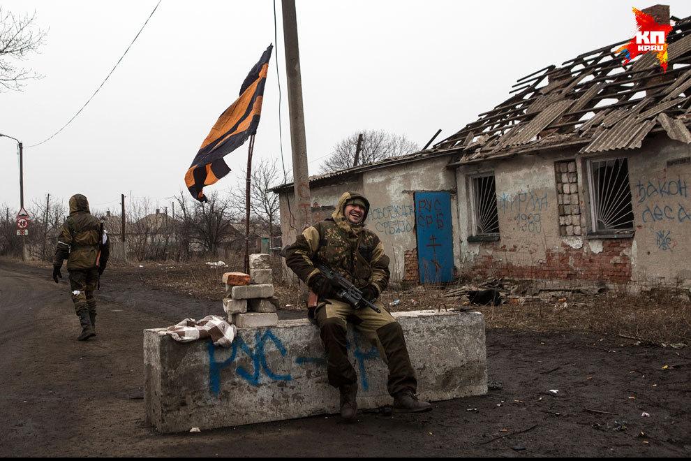 Сейчас Дебальцево контролируют ополченцы ДНР. Фото: Нигина БЕРОЕВА