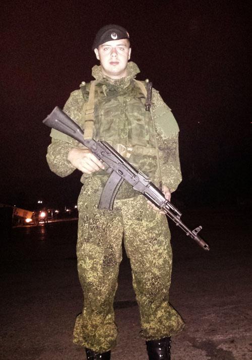 Морской пехотинец из Твери Илья Егоров. Фото: личный архив.