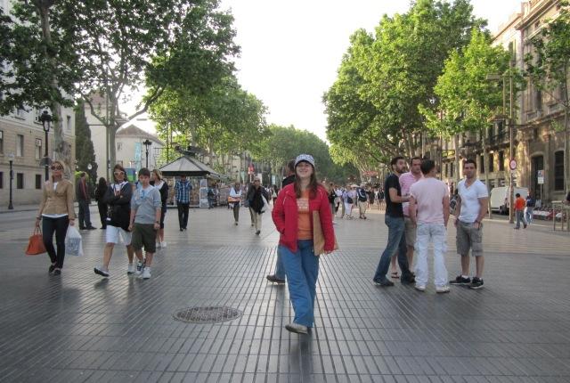 Барселона прекрасна в любое время года. Фото: Алексей ДЕНИСЕНКОВ