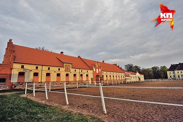 Наши корреспонденты обнаружили в поместье Лужкова вот такую «пятизвездочную» конюшню. Фото: Виктор ГУСЕЙНОВ