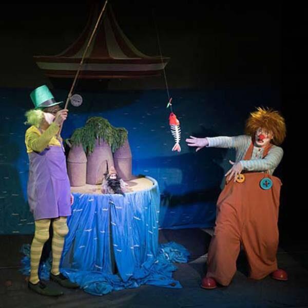 Спектакль «Робинзон» в Театре кукол Образцова