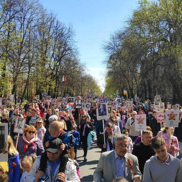 День Победы в Пушкине
