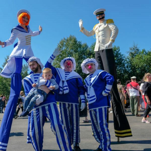 Фестиваль тельняшки в Кронштадте