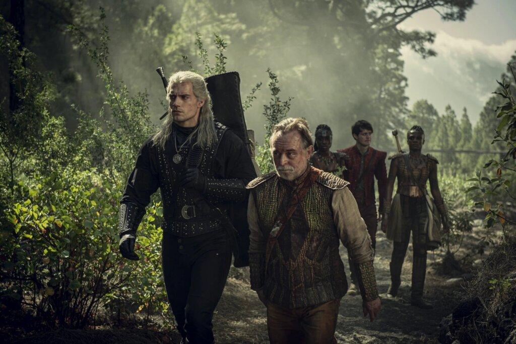 Генри Кавилл выложил фото со съемок «Ведьмака»