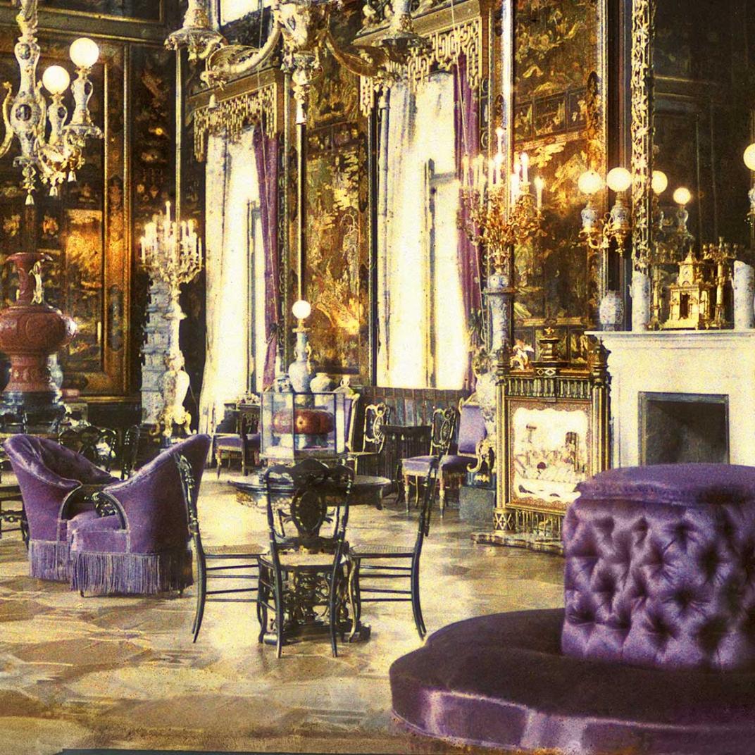 Китайский зал в екатерининском дворце