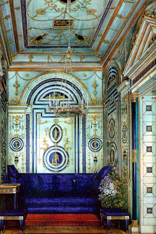 Синий кабинет в царском селе