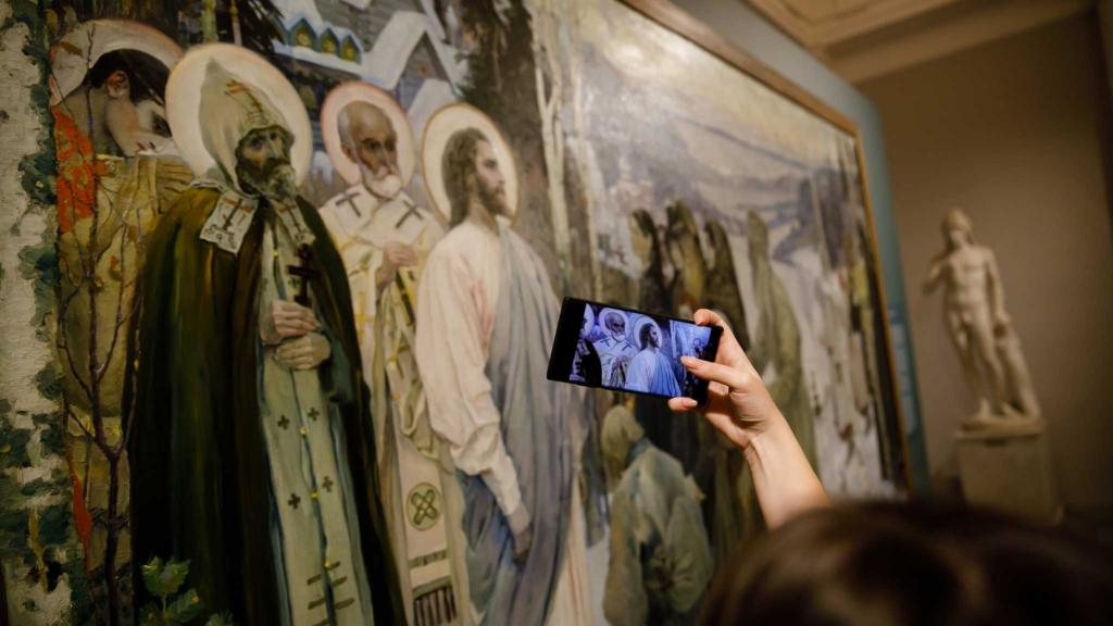 картина святая русь в русском музее
