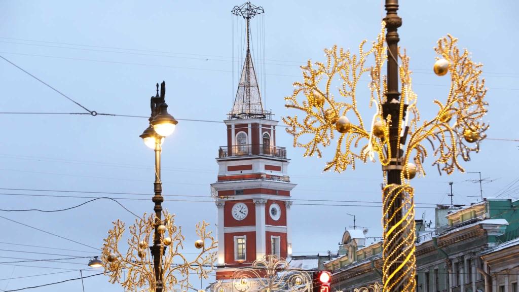 фонари на невском проспекте