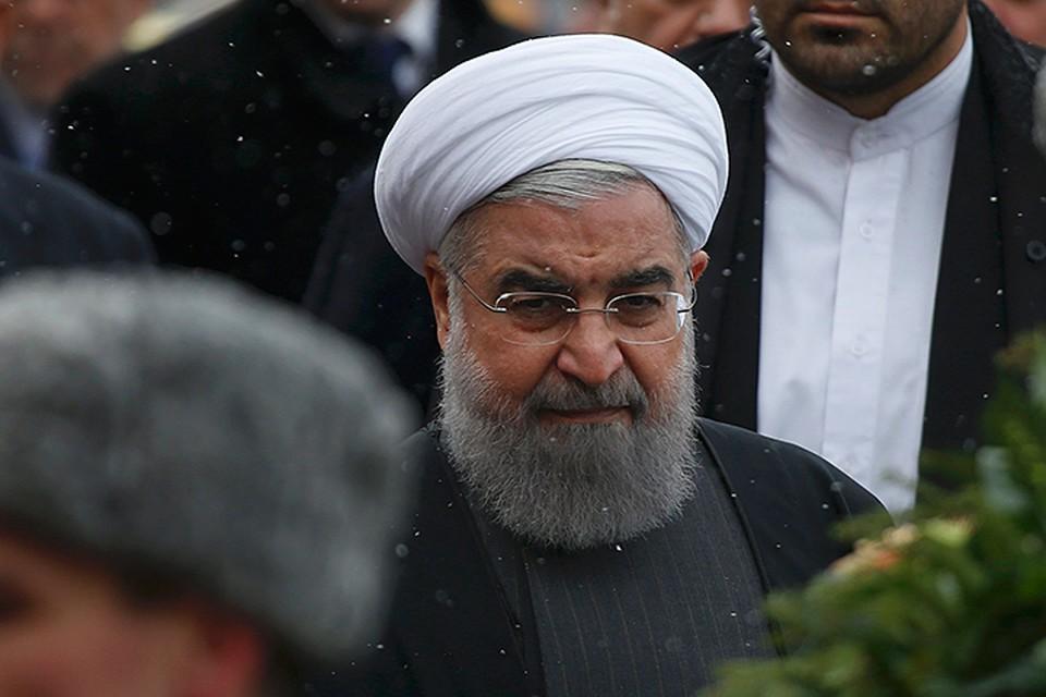 Президент Ирана Хасан Рухани прибыл с официальным визитом в Москву