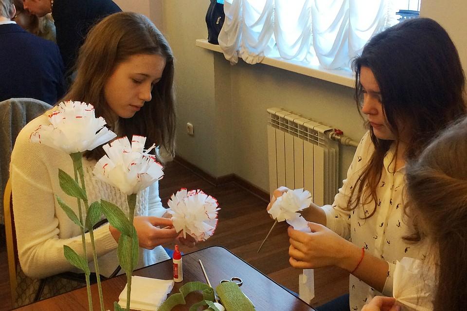 Цветы петербург акция